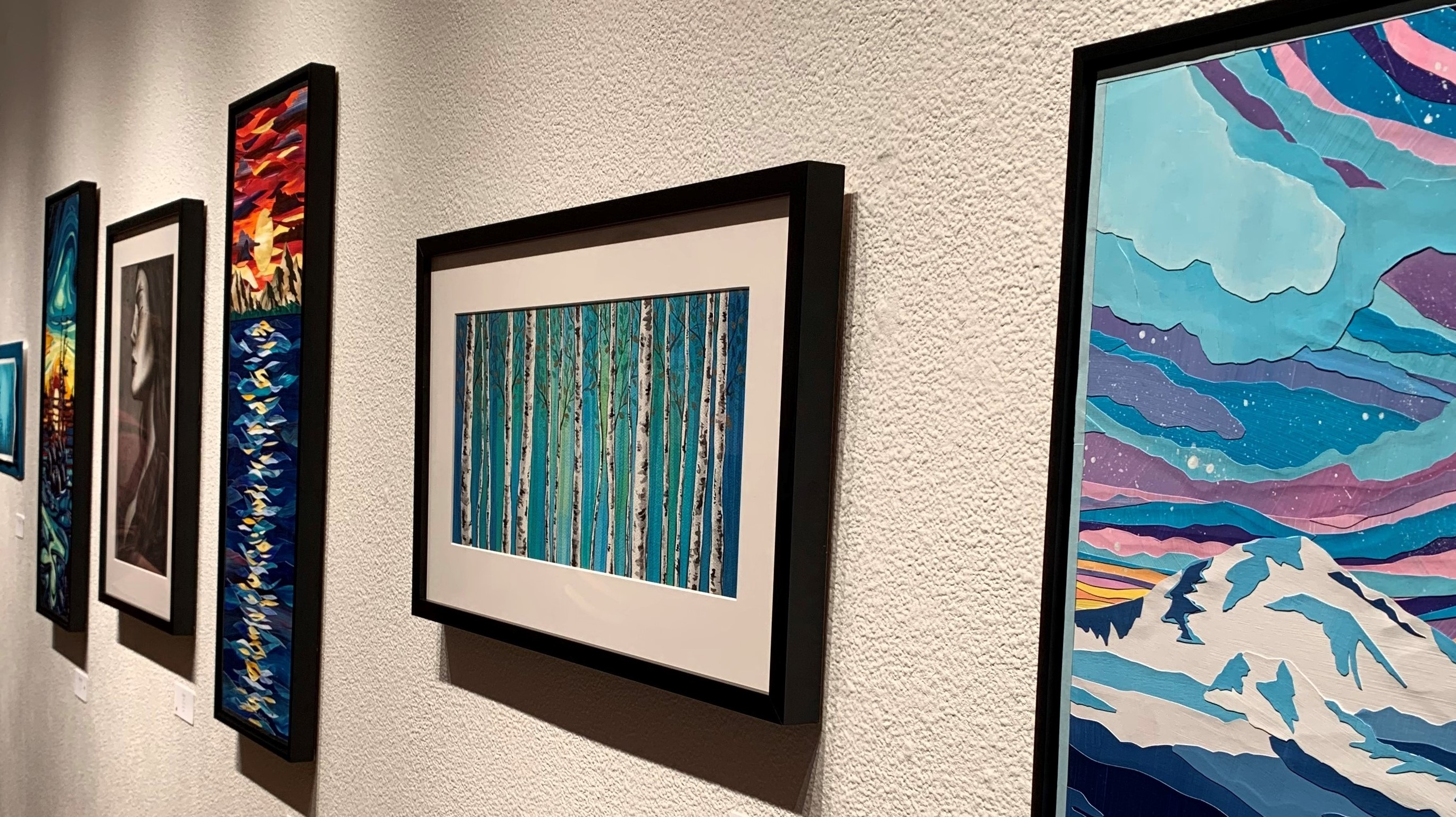 """""""The Space Between"""": A Solo Exhibit by Lori Orlowski 11/01/2019"""
