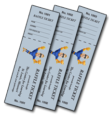custom ticket printing ticket printing in st louis raffle tickets