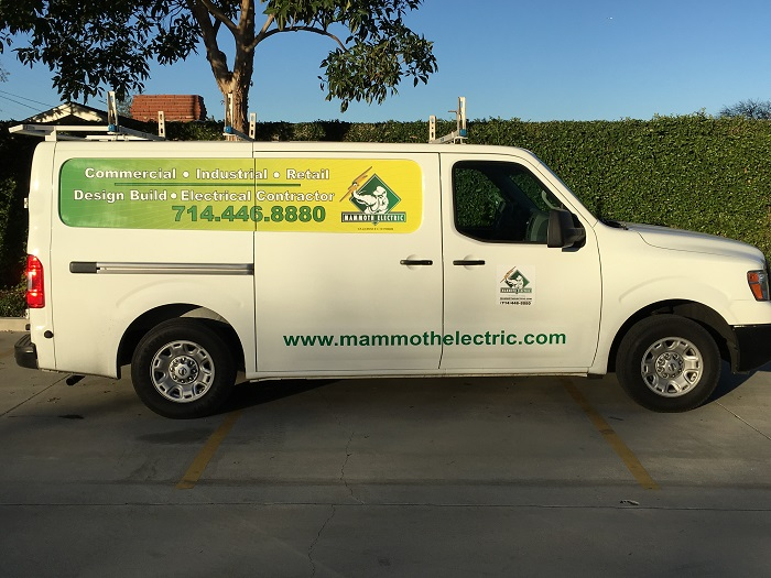 Best vinyl van graphics in Anaheim CA