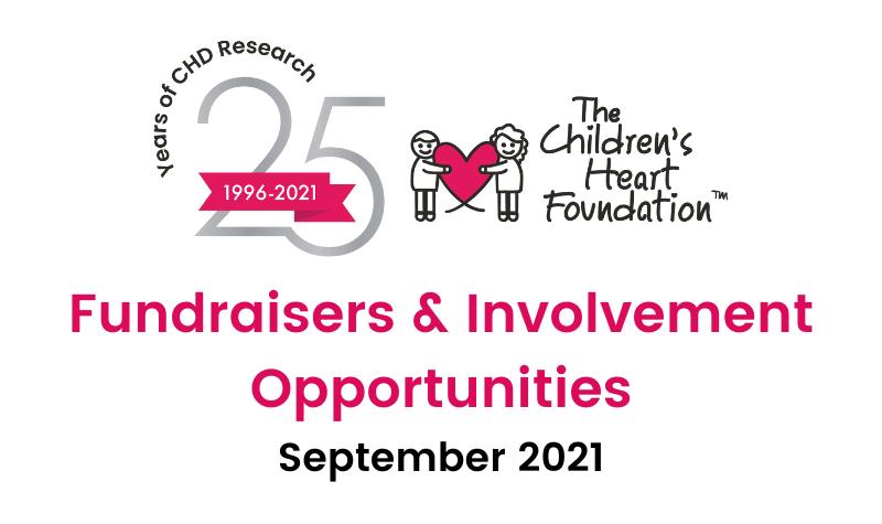 September Fundraising Opportunities