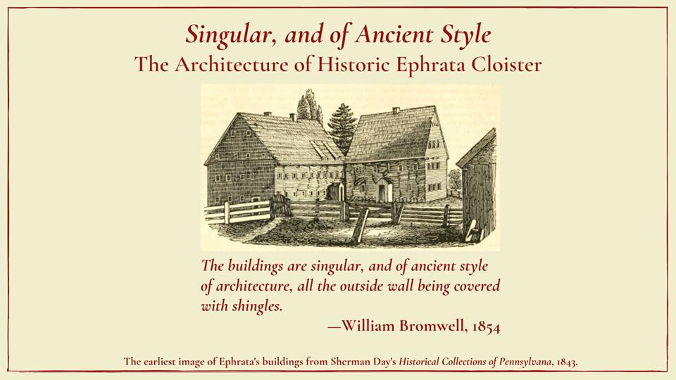 Ephrata Cloister Virtual Exhibit