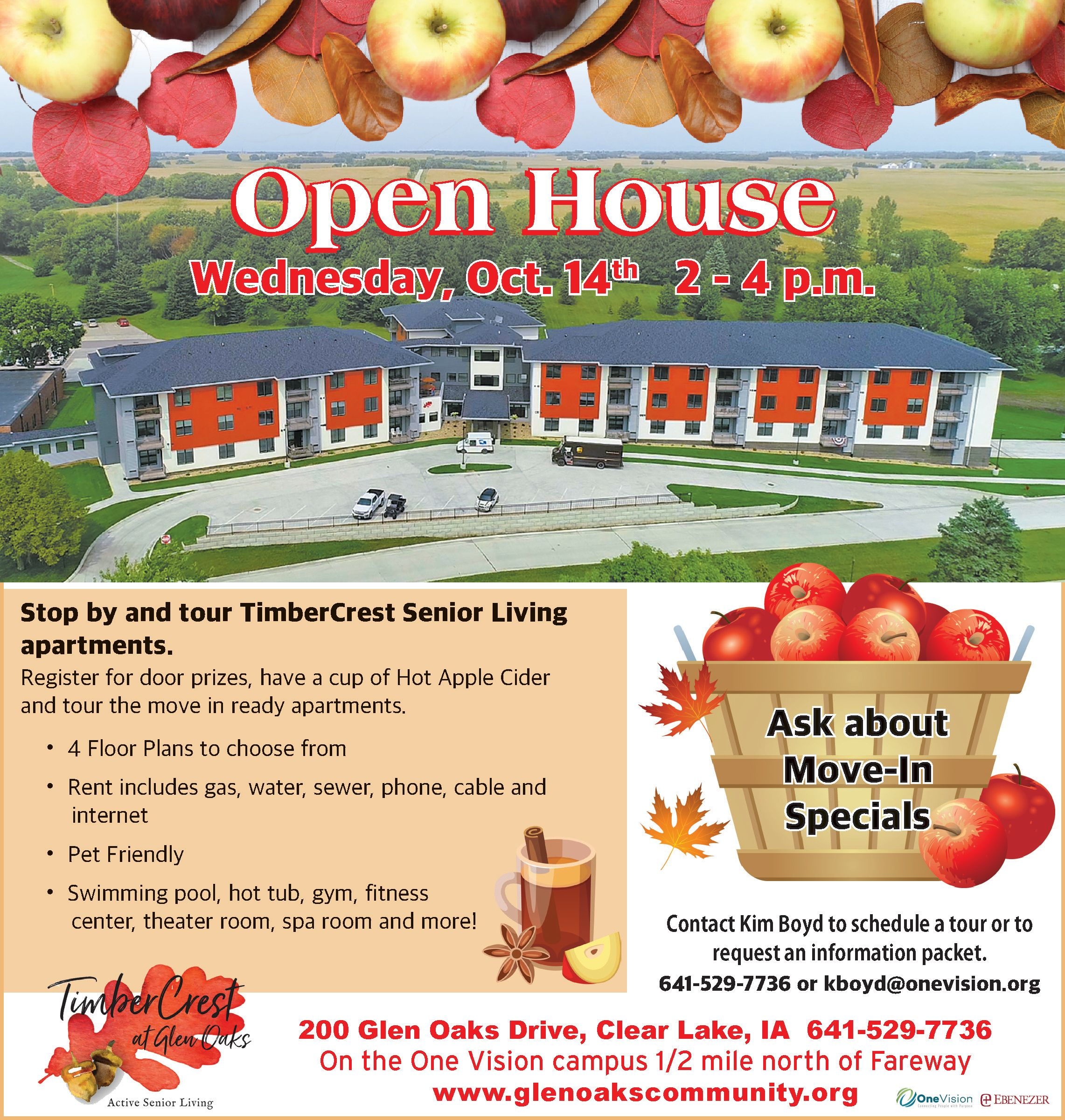 Glen Oaks Community – TimberCrest Apartments and Terrace Townhomes Open House
