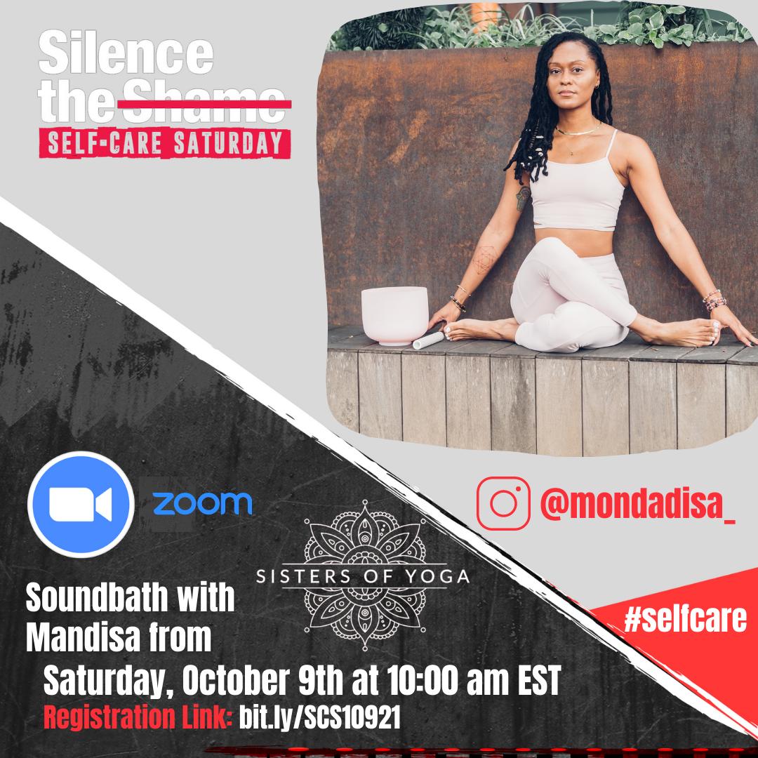October 10th: Soundbath w/ Mandisa