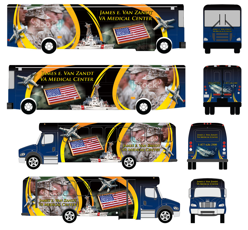 VA Full Bus Wraps