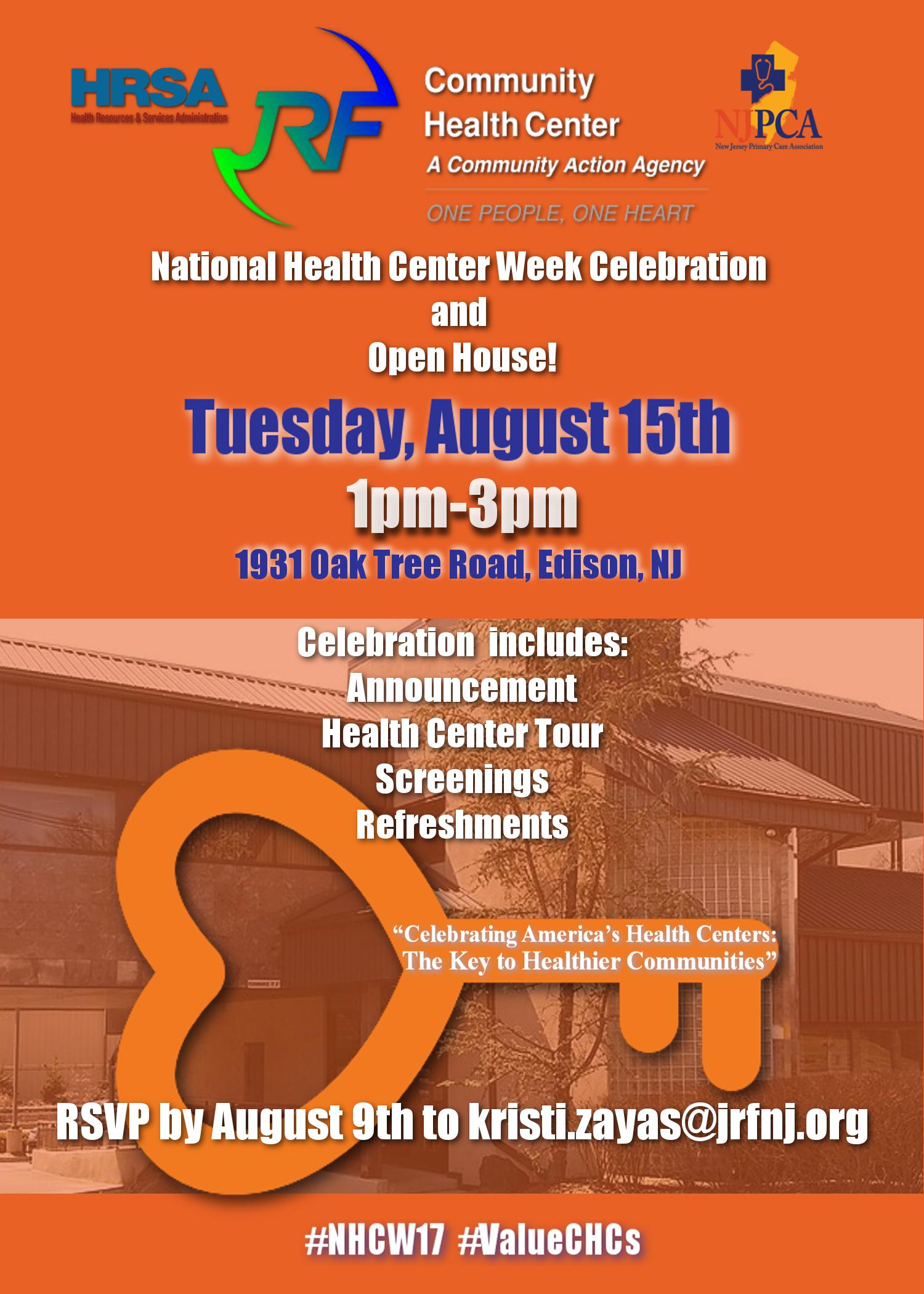 JR CHC National Health Center Week