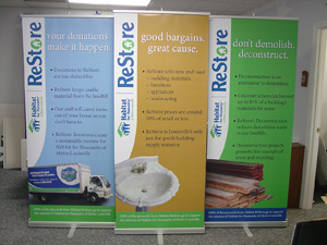 INDOOR GRAPHICS / TRADE SHOW DISPLAYS
