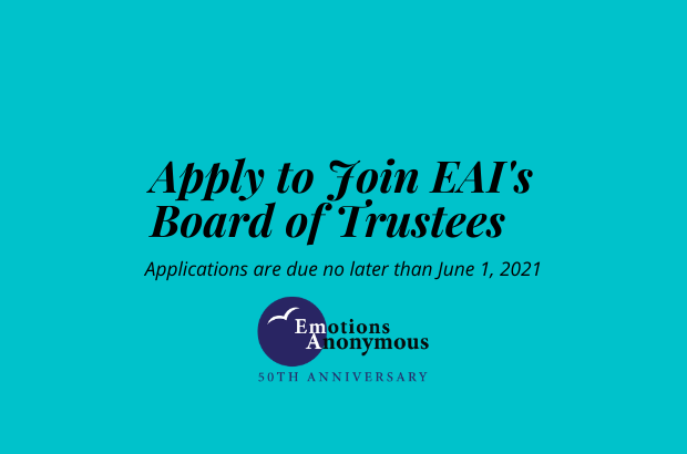 Applications for new EA Trustees are now being accepted!
