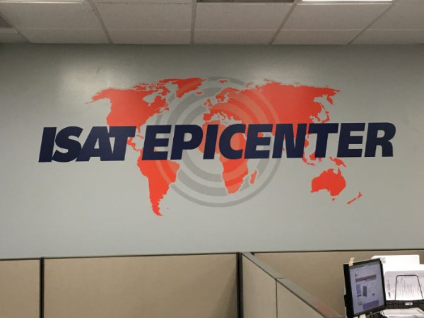 Corporate wall graphics for businesses in Orange County CA
