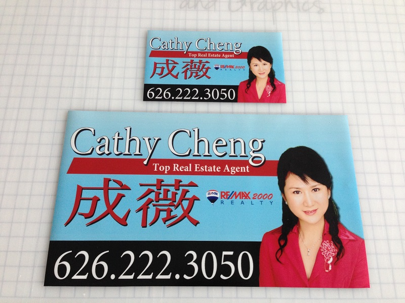 Realtor Magnetic Car Signs