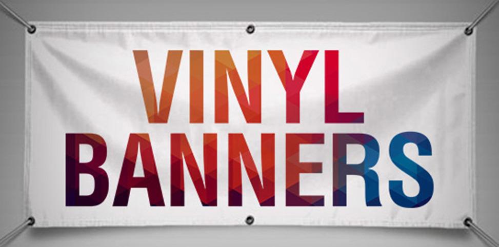 Indoor/Outdoor Vinyl Banners