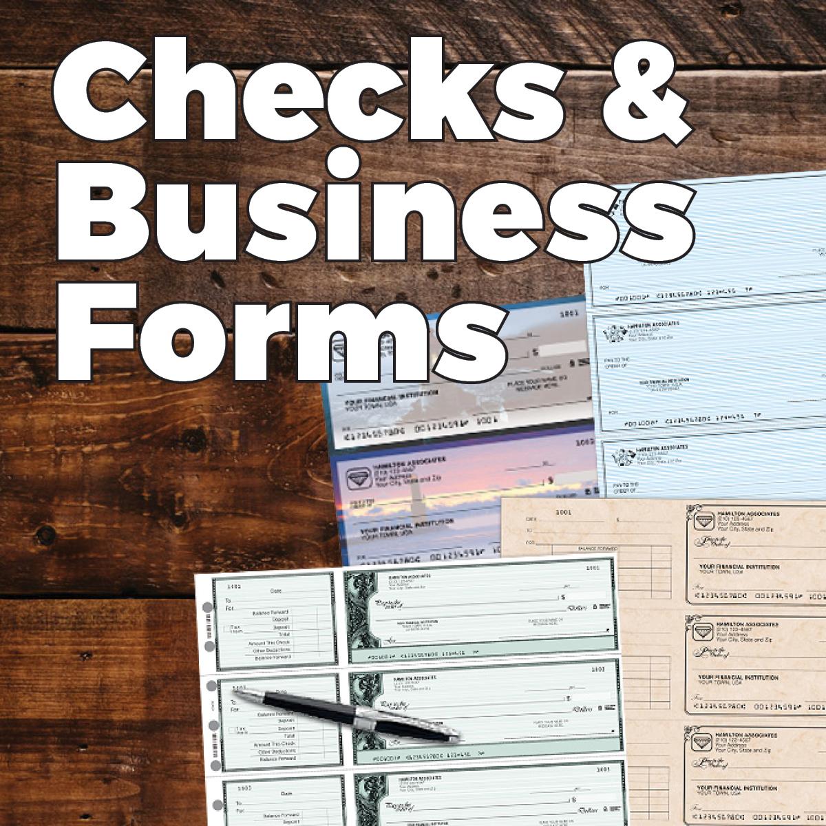 Checks & Business Forms