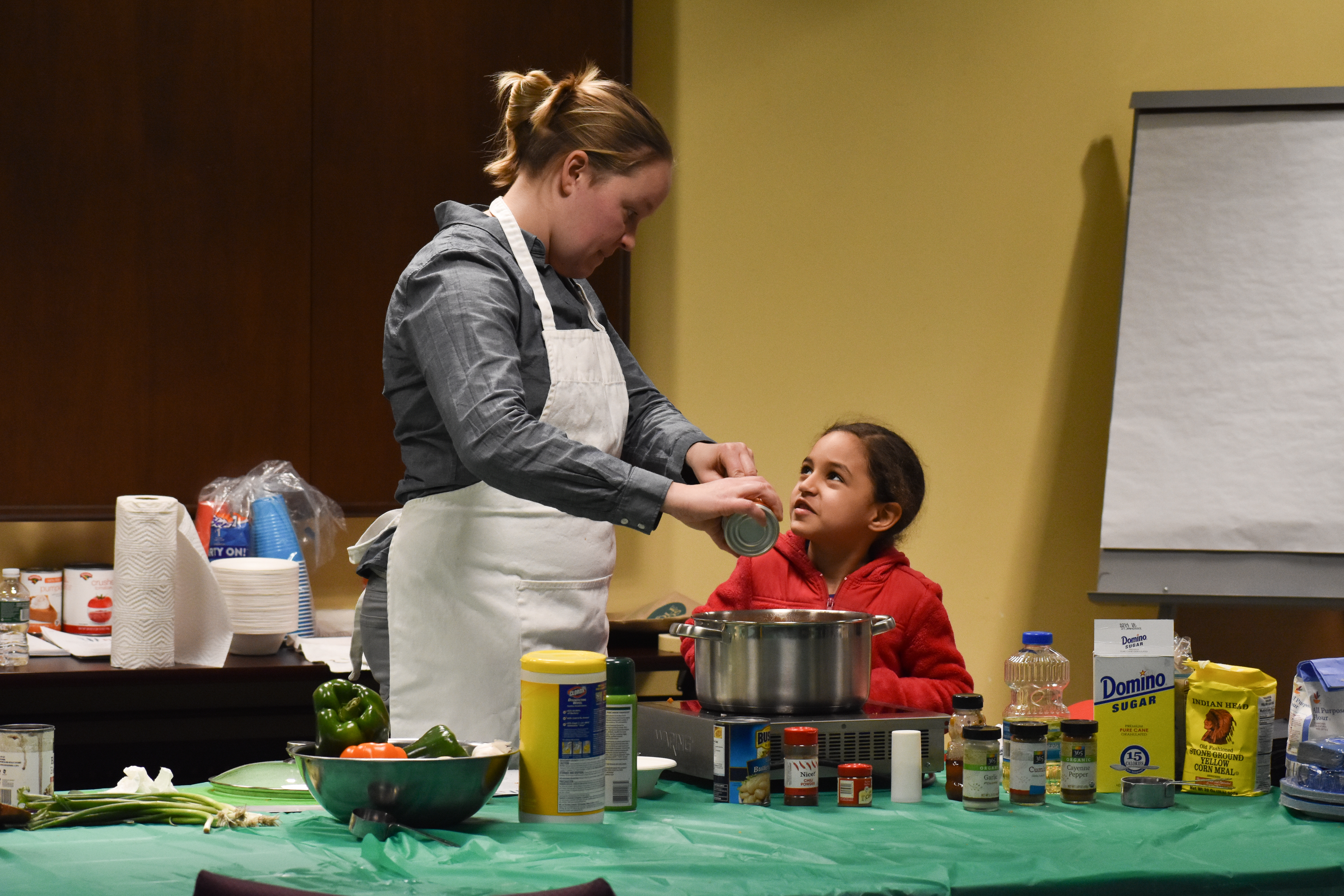 Cooking Lessons Bring Food and Smiles to DDP Clients