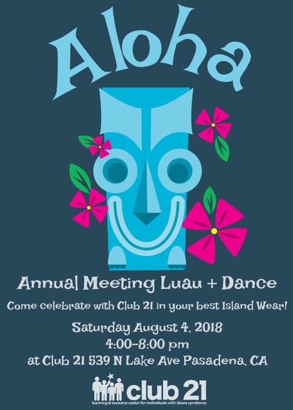 Annual Meeting Luau + Dance