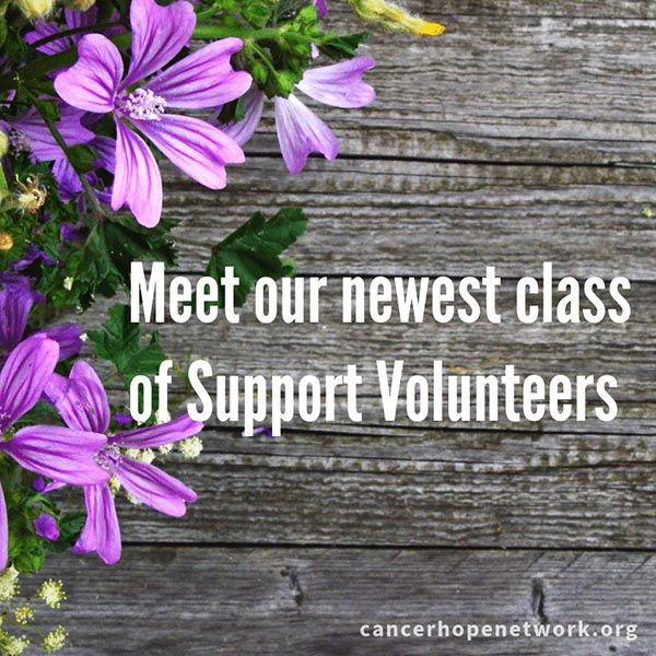 CHN Trains New Class of Support Volunteers