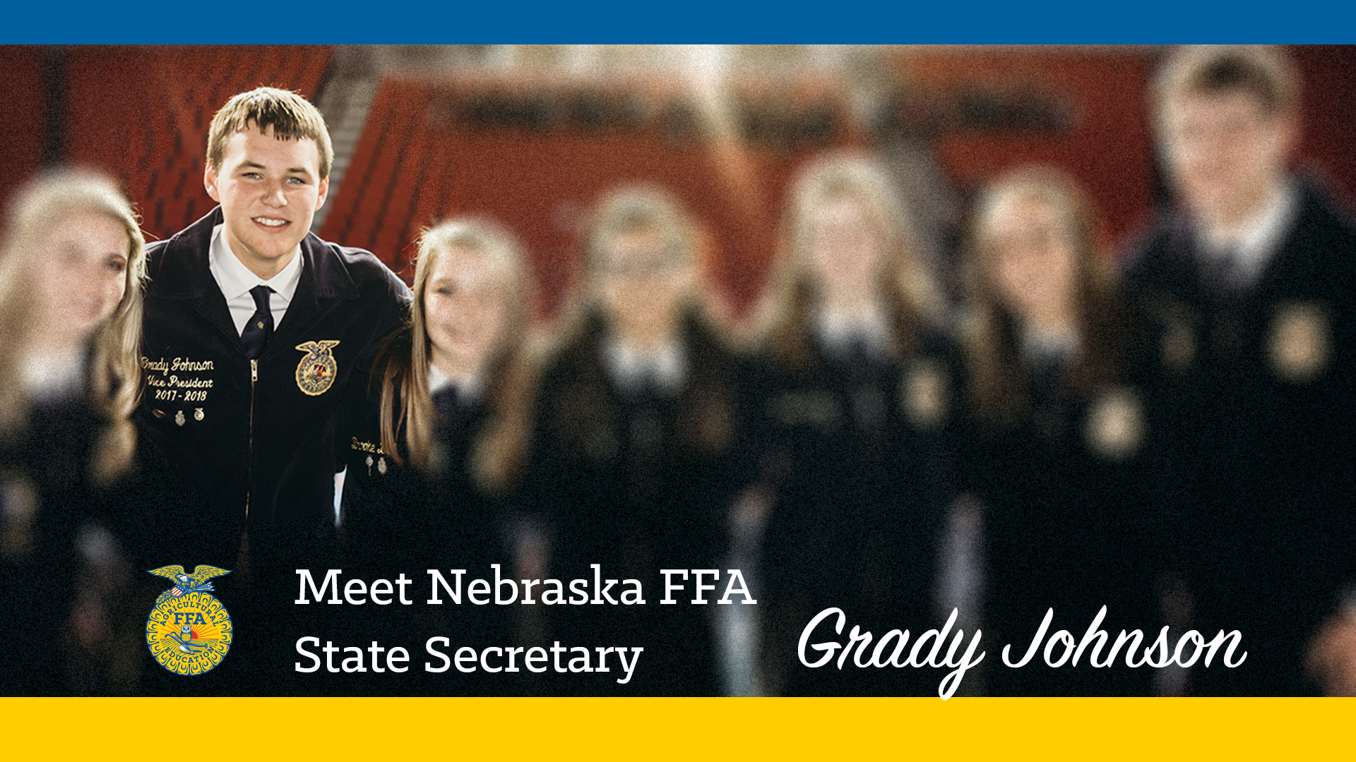 Meet Your 2018-19 Nebraska FFA State Secretary: Grady Johnson
