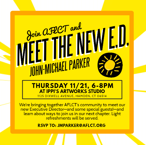 You're Invited to Meet the New Executive Director!
