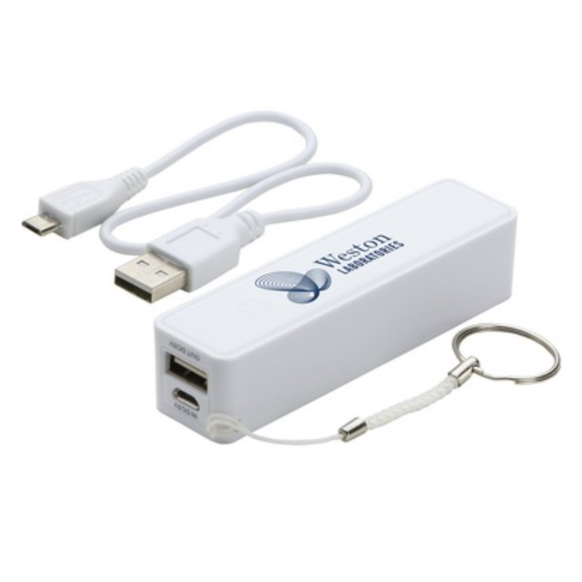 In-Style 2200mAh Power Bank (White)