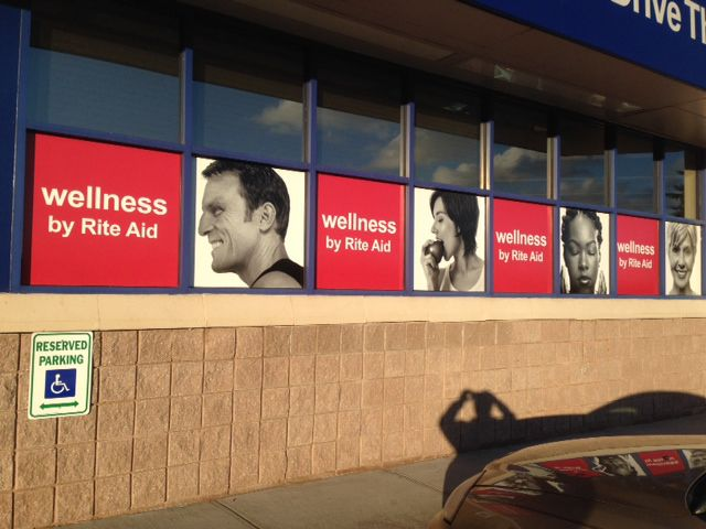 Rite Aid Full coverage window graphics