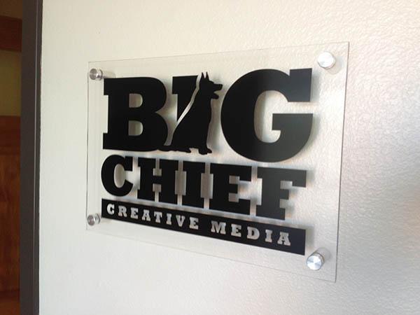 Acrylic Lobby Sign