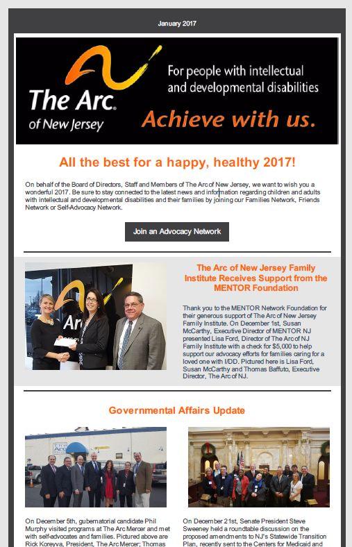 January E-News 2017