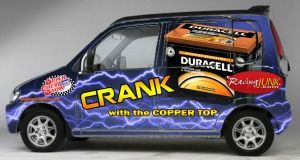 Duracell Miles Electric Car
