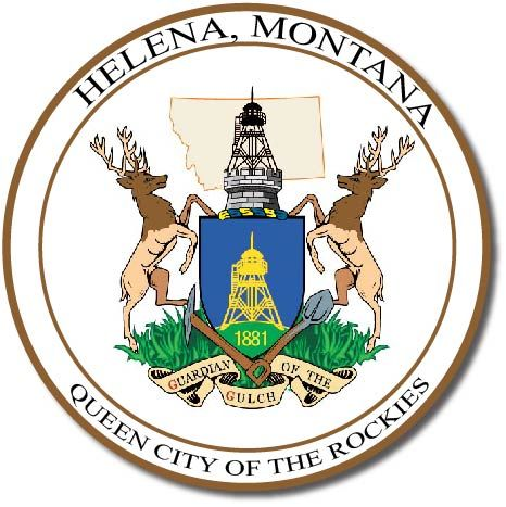 X33078 - Seal of the City of Helena, Montana, featuring Coat-of-Arms