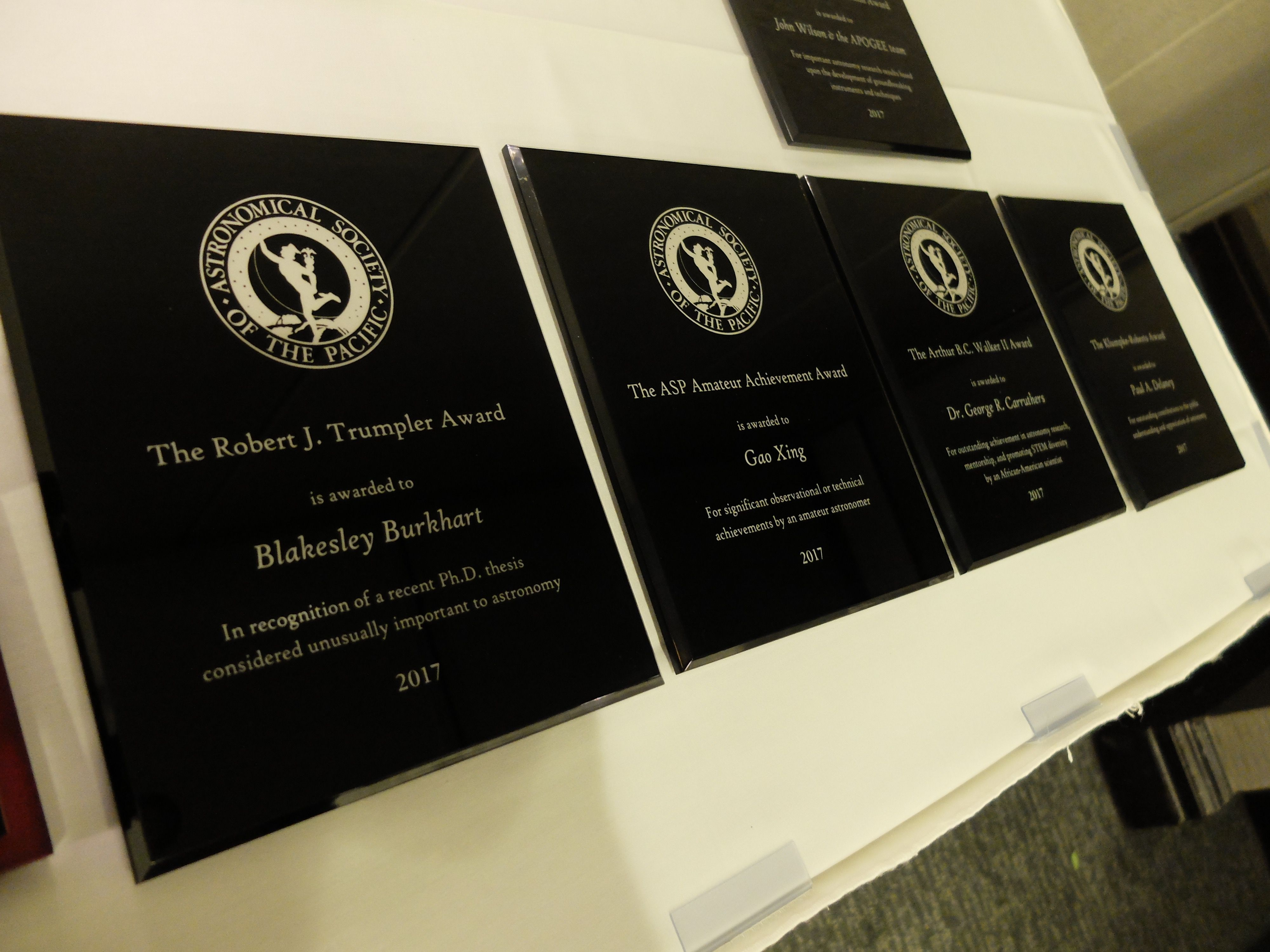 2021 ASP Award Recipients Announced