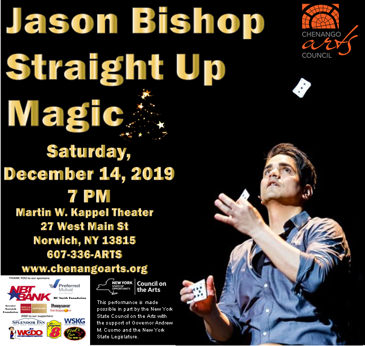 Jason Bishop Straight Up Magic