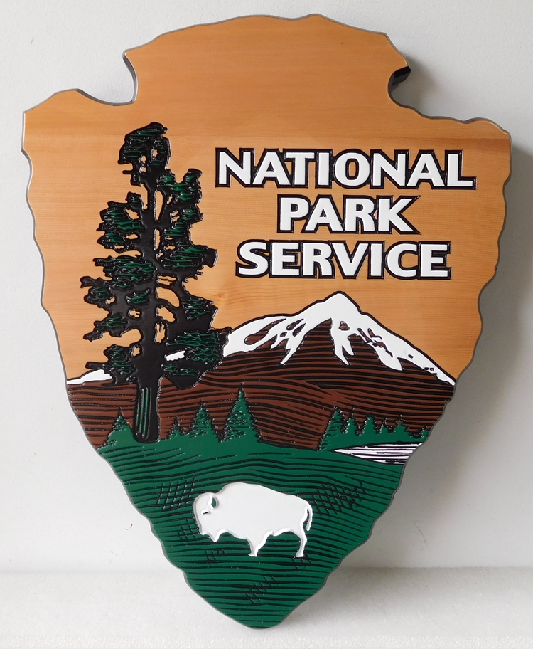 "G16066 -  U.S. National Park Service Emblem, the ""Arrow"""