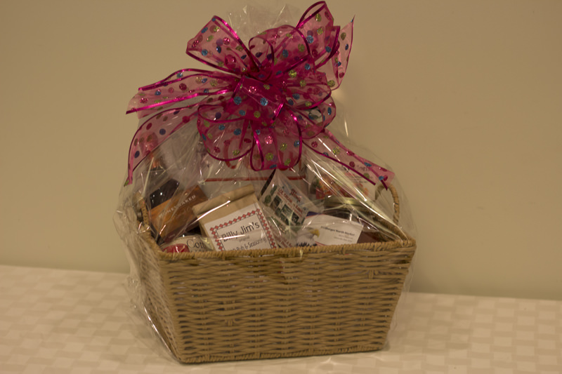 """Taste of Zanesville"" Basket - Donated by Zanesville-Muskingum Co. Chamber of Commerce"