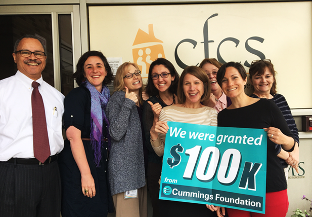 Thank You to the Cummings Foundation!