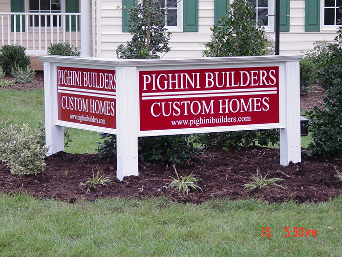 Pighini Site Sign