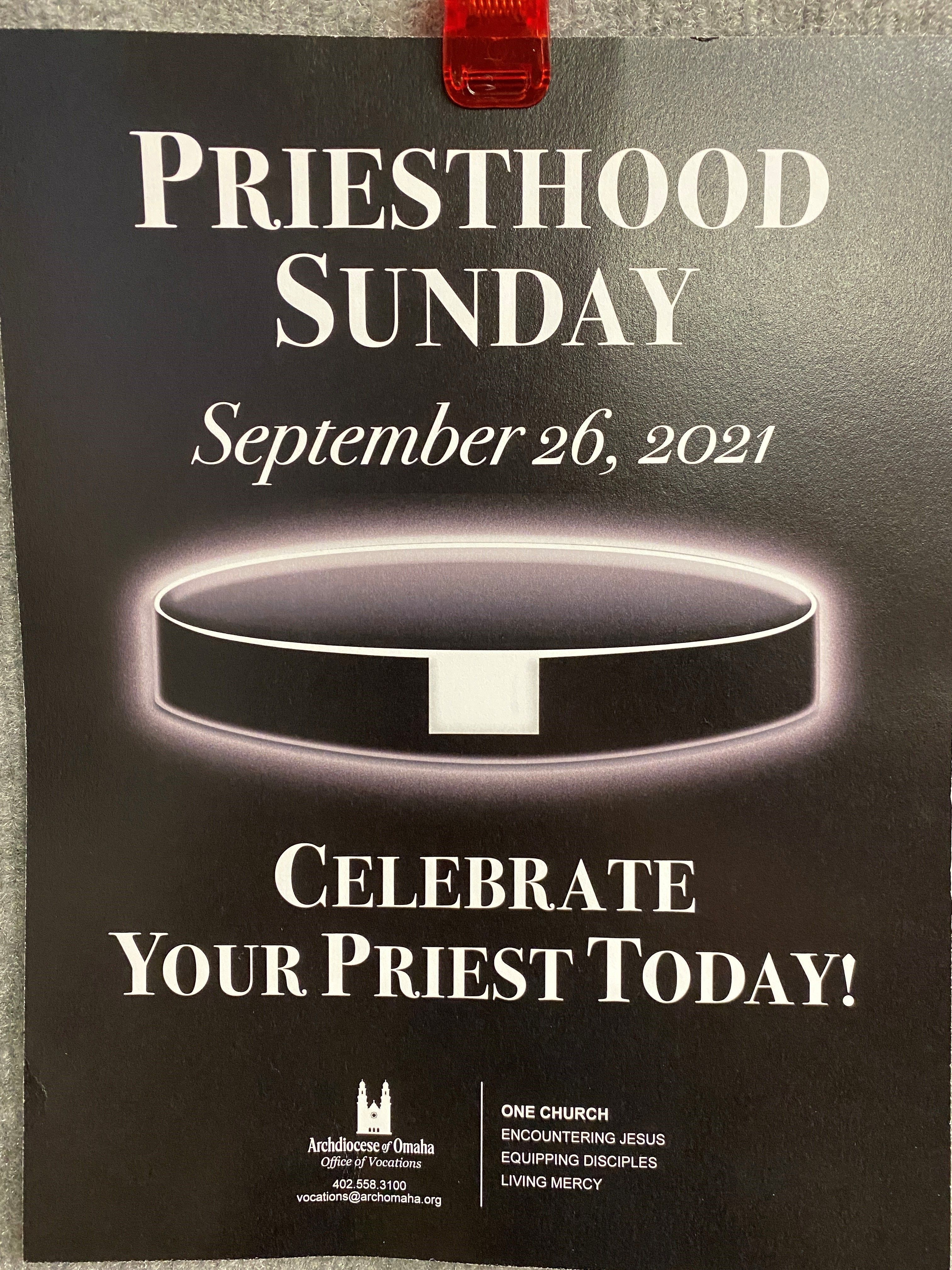 Celebrate Your Priest Today!