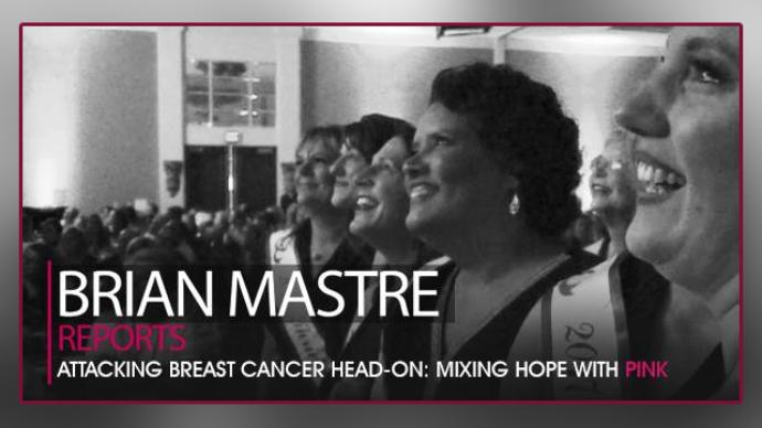 Brian Mastre Reports Attacking Breast Cancer Head-On: Mixing Hope With Pink