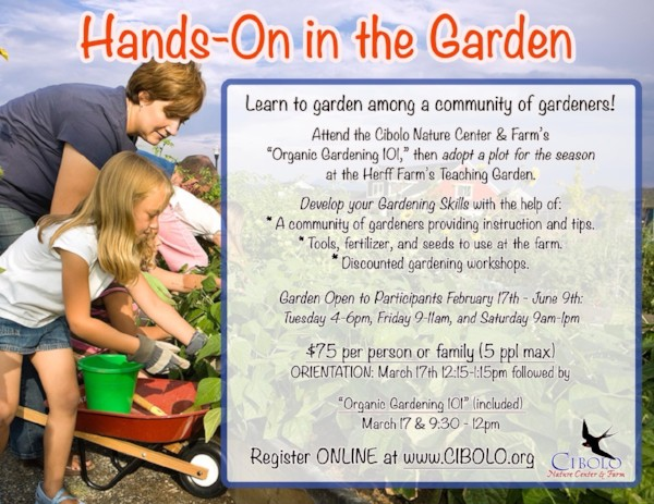 FARM: Hands On in the Garden
