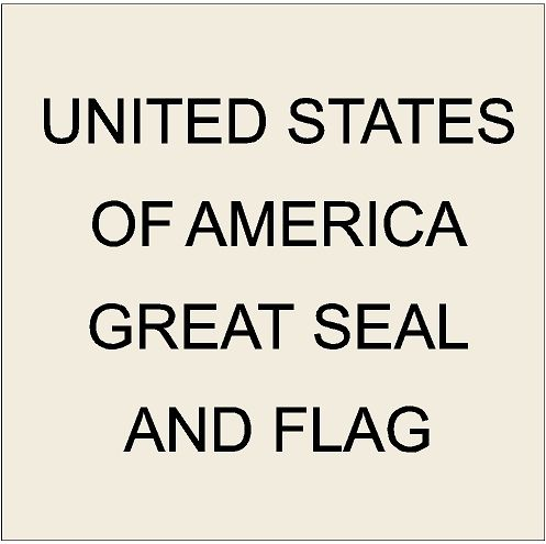 2. U30009 - Great Seal of The United States Carved 3d Wooden Wall Plaques