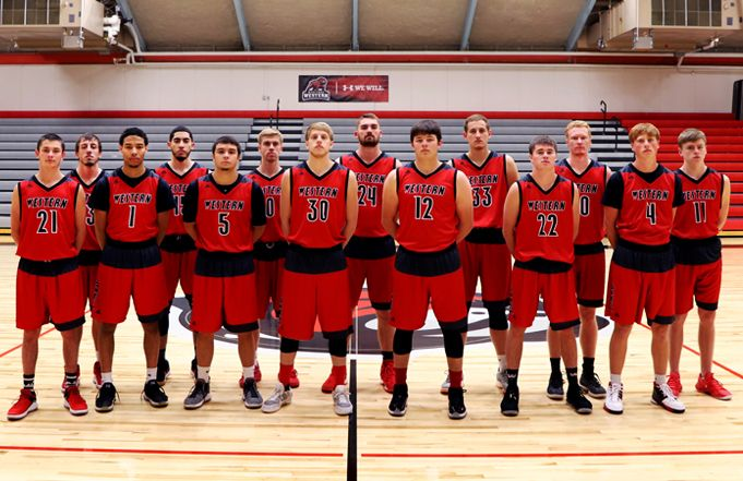 Montana Western Men's Basketball Team Volunteers