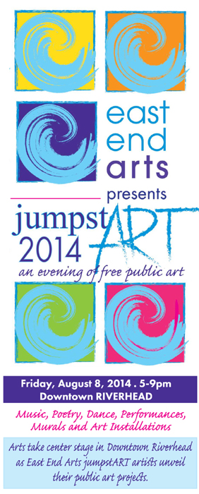 EEA Presents JumpstART, an evening of free public arts