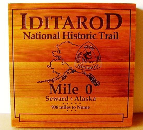 G16121 - Cedar Wood Iditarod National Historical Trail, Mile 0