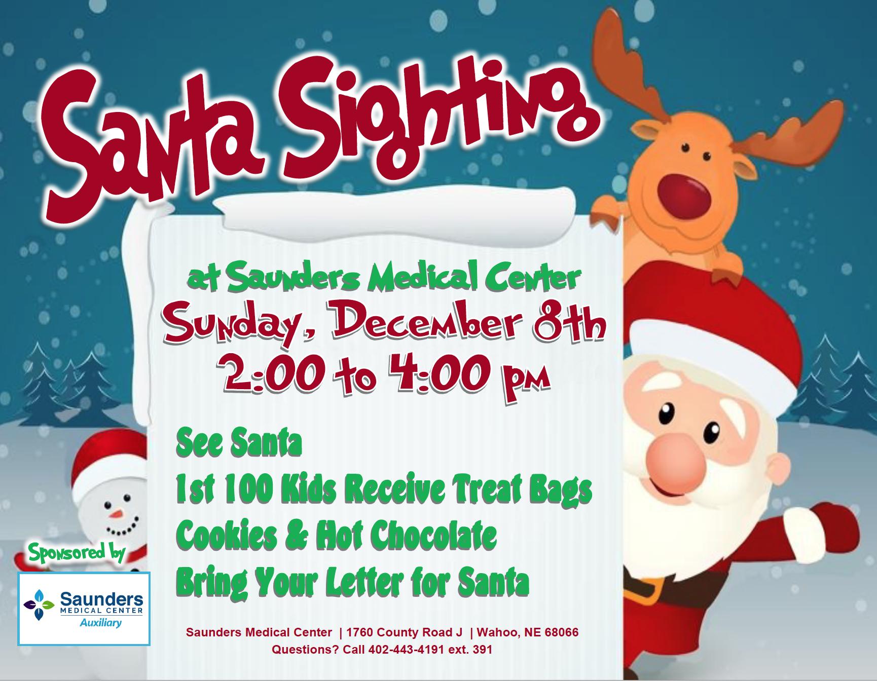 Santa is coming to Wahoo, Nebraska!