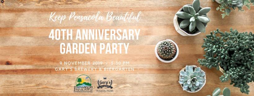 40th Anniversary Garden Party