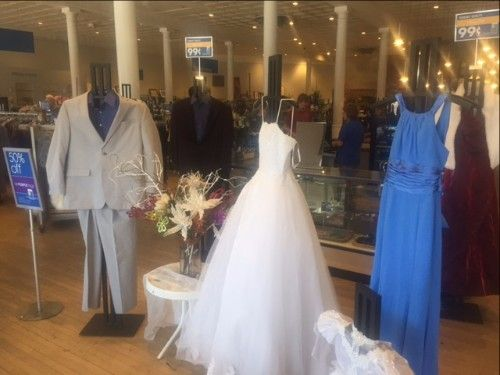 Saving Big on the Big Day: Goodwill has Discount Dresses for Brides on a Budget