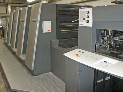 Heidelberg CD 74 Speedmaster w/coater