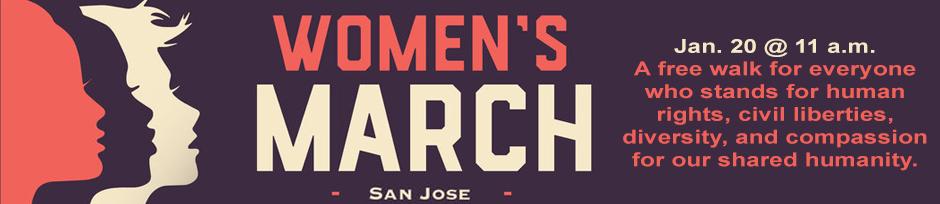 2018 women's march SJ