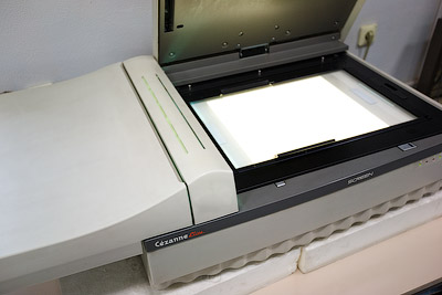 Screen Cézanne Elite flatbed scanner