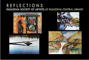 "Pasadena Central Library - ""Reflections"""