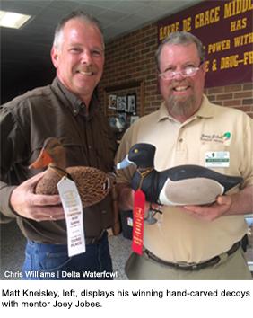 Kneisley Crafts Pair of Winning Ducks