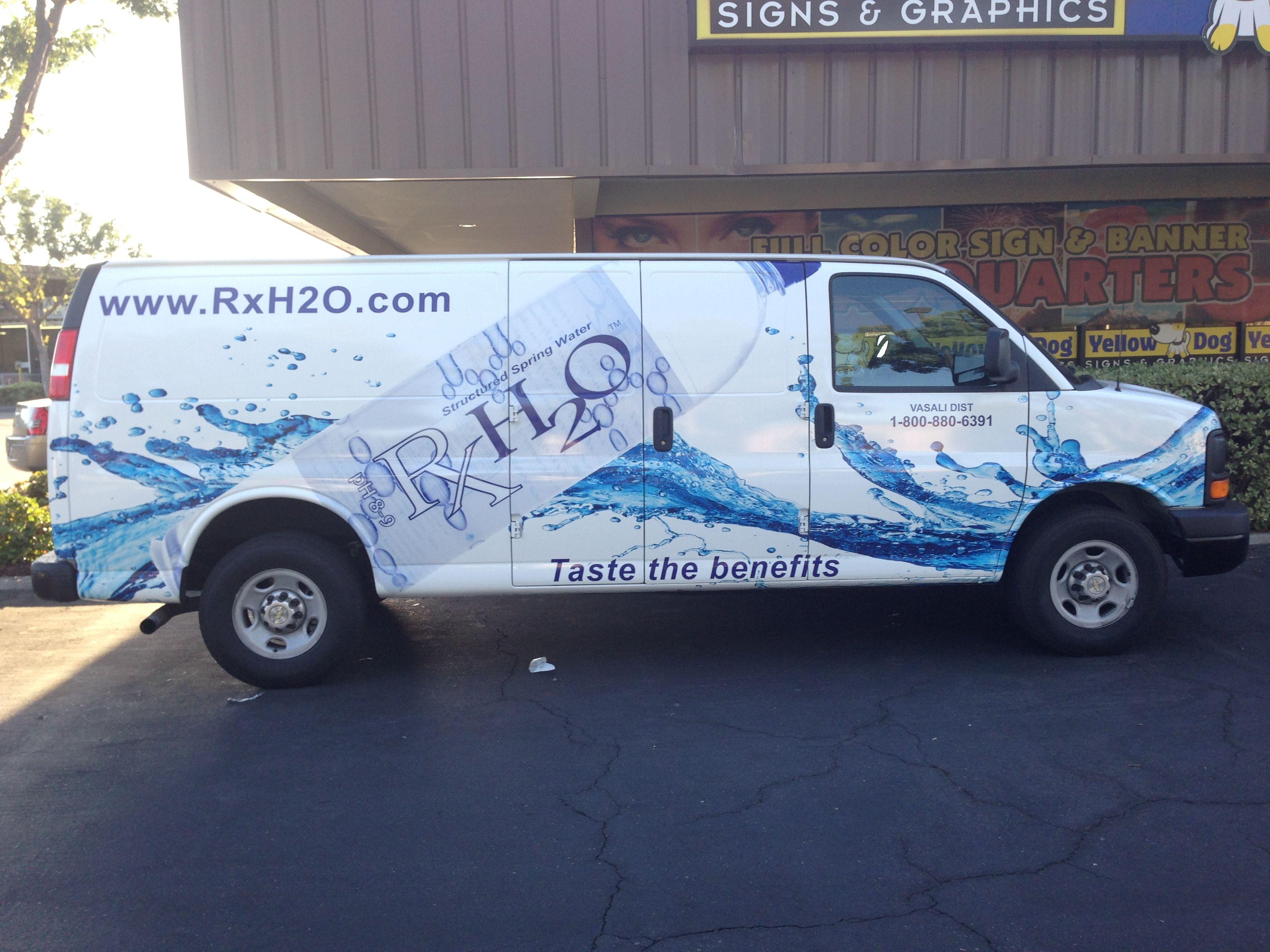 H2O Water Van