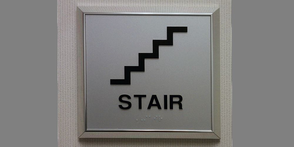 Braille Sign
