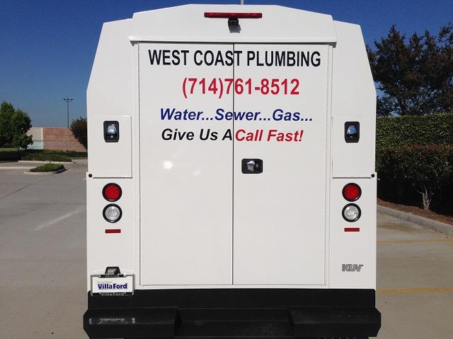 Work Truck Lettering for Contractors in Orange County